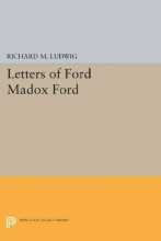 Ludwig, Richard Letters of Ford Madox Ford