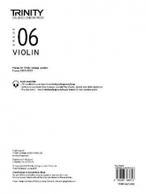 TRIN COLLEGE LONDON VIOLIN 20202023 GRADE 6 PART ONLY