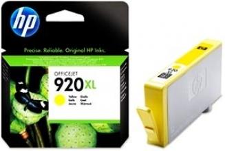 , Inktcartridge HP CD974AE 920XL geel HC