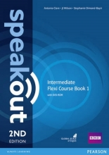 Clare, Antonia,   Wilson, J. J. Speakout Intermediate Flexi Coursebook 1 Pack