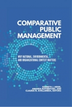 Meier, Kenneth Comparative Public Management