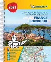 , ATLAS MICHELIN FRANCE 2021
