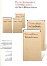 Mann, Thomas Essays 1. 1893-1914. Große kommentierte Frankfurter Ausgabe