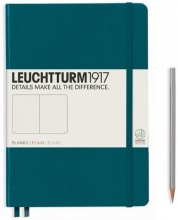 , Leuchtturm notitieboek composition softcover 178x254 mm pacific blanco