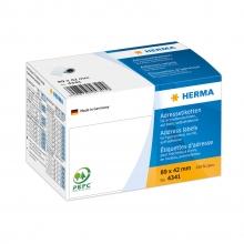 , Etiket Herma adres 4341 89X42Mm 250stuks op rol