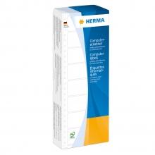 , Etiket Herma 8161 88.9x35.7mm 1-baans wit 2000stuks