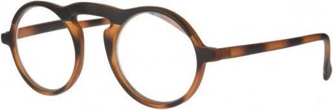 Ncd339 , Leesbril icon matt black top matt demi bottom +2,00