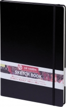9314003m , Talens art creation notitieboek a4 zwart 80 vel 140 gr