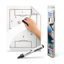 , Magic-Chart Legamaster Whiteboard 60x80cm wit