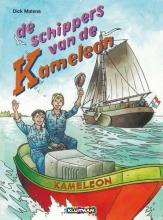 H. de Roos, Dick  Matena de Schippers van de Kameleon (stripboek paperback)