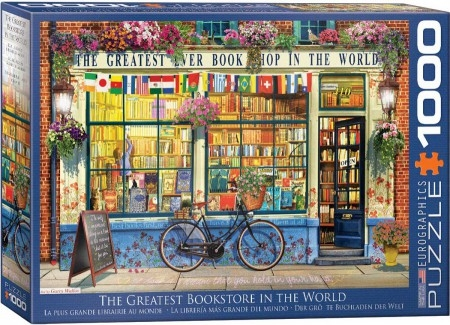 Eur-6000-5351,Puzzel the greatest bookstore in the world - eurographics - 1000 - 48 x 68