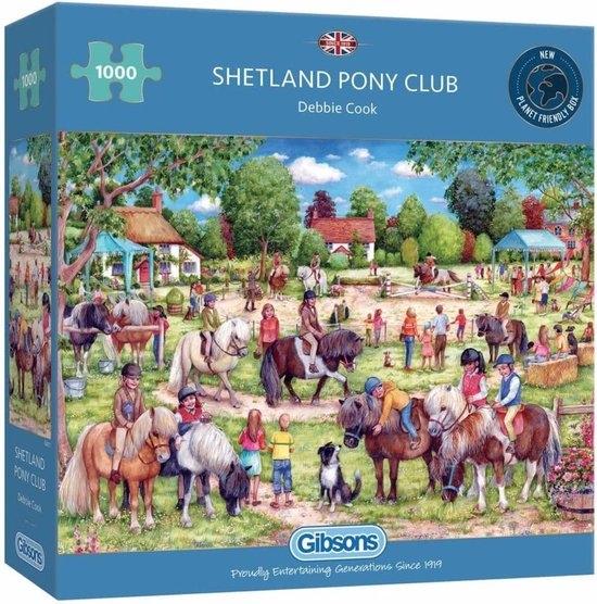 Gib-g6311,Puzzel shetland pony club debbie cook gibsons 1000 stuks