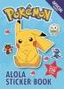 <b>Pokemon</b>,The Official Pokemon Alola Sticker Book