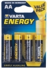 , Batterij Varta energy 4xAA