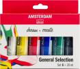 ,<b>Talens Amsterdam Acrylverf Set 6 Tubes  20ml</b>