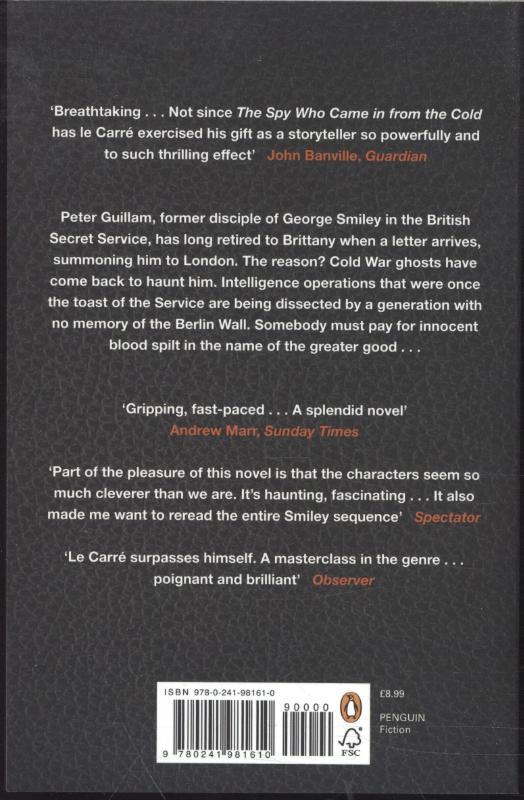Carré, John le,Legacy of Spies