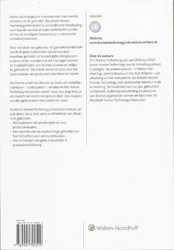 ,Basisboek Human Technology Interaction