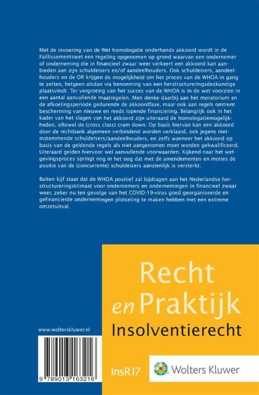 S. Renssen,De herijking van het faillissementsrecht - De WHOA