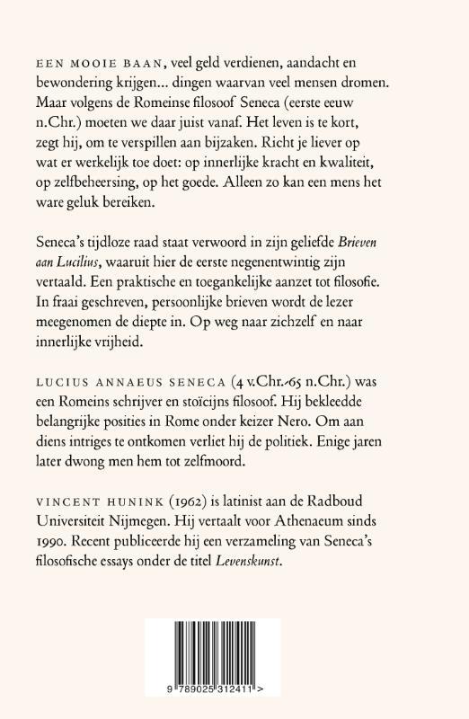 Seneca,Met zicht op het einde