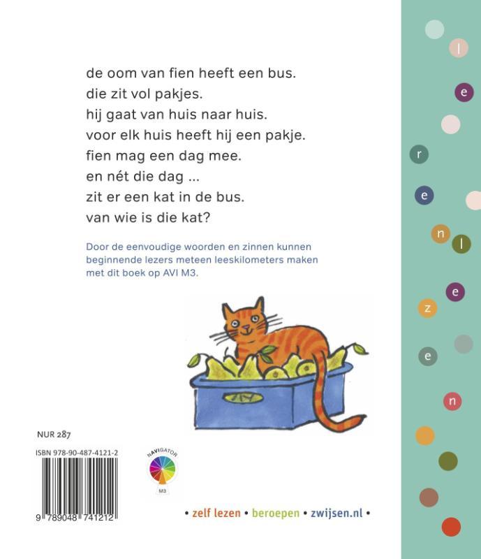 Jolanda Horsten,een kat in de bus