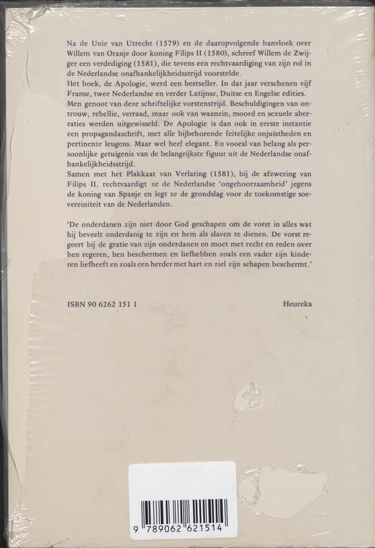 ,Apologie of verantwoording prins van Oranje