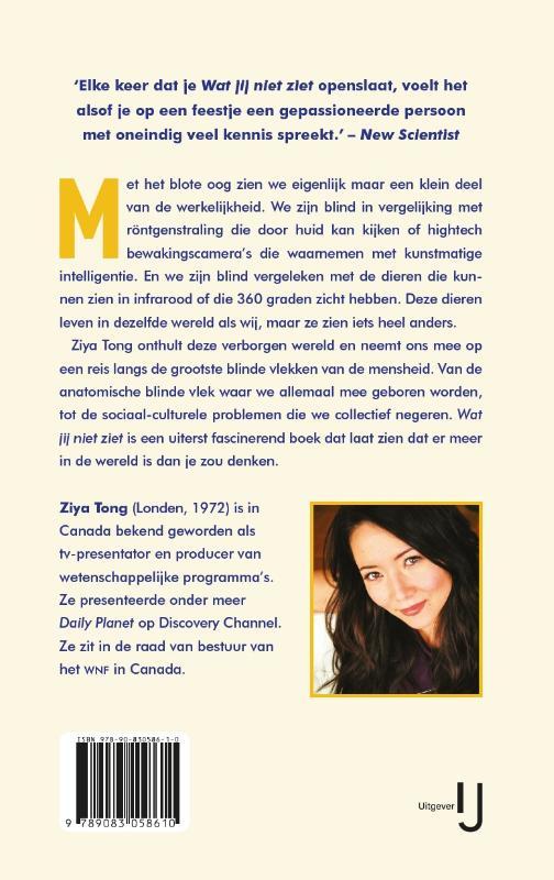 Ziya Tong,Wat jij niet ziet