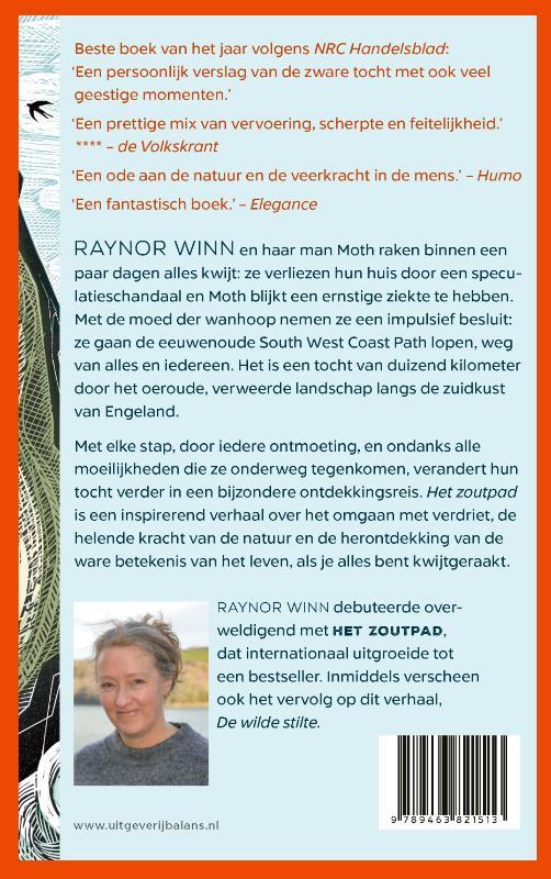 Raynor Winn,Het zoutpad