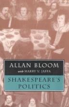 Bloom, Allan Shakespeare`s Politics (Paper)