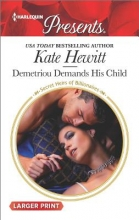 Hewitt, Kate Demetriou Demands His Child