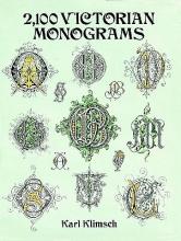 Klimsch, Karl 2,100 Victorian Monograms