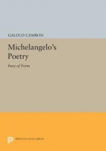 Cambon, G Michelangelo`s Poetry - Fury of Form