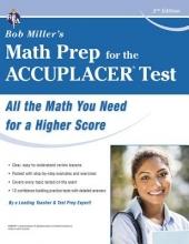 Miller, Bob Bob Miller`s Math Prep for the Accuplacer Test