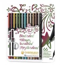 , Fineliner Chameleon designers blister à 12 kleuren