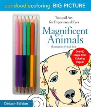 Zendoodle Coloring Big Picture Magnificent Animals