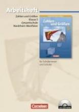 Zahlen und Größen. 5. Schuljahr. Gesamtschule Nordrhein-Westfalen. Neubearbeitung 2005 . Arbeitsheft mit eingelegten Lösungen und CD-ROM