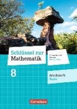 Schlüssel zur Mathematik 8. Schuljahr - Differenzierende Ausgabe Rheinland-Pfalz - Arbeitsheft Basis mit Online-Lösungen