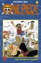 Oda, Eiichiro One Piece 01. Das Abenteuer beginnt