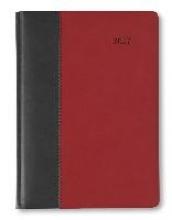 Buchkalender 2017 Premium Fire (schwarz rot)