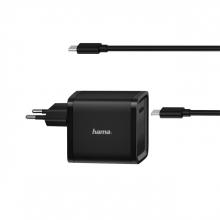 , Universele USB-C-notebook-netadapter Hama