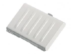 , Visitekaartenhouder 2vaks mat aluminium