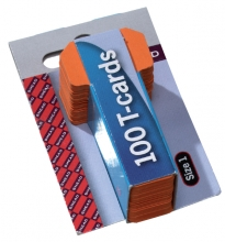 , Planbord T-kaart Jalema formaat 1 15mm oranje