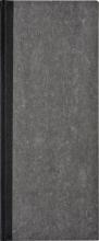 , Winkelboek smalfolio 192blz gelinieerd grijs gewolkt