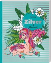 , Kleurboek Interstat volwassenen zilver thema fantasy