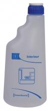 , Sproeiflacon PrimeSource blauw voor interieur leeg 600ML