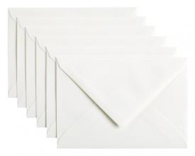 , Envelop Papicolor C6 114x162mm Hagelwit