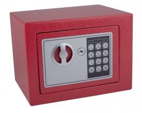 , Kluis Pavo mini 230x170x170mm elektronisch rood
