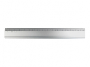 Ar-15031 , Liniaal aristo 30cm aluminium rubber aanleg