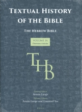 , Textual History of the Bible Vol. 1A
