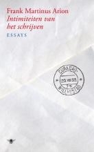 Frank Martinus  Arion Intimiteiten van het schrijven