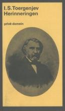 Ivan Sergeevic  Toergenjev Herinneringen (POD)